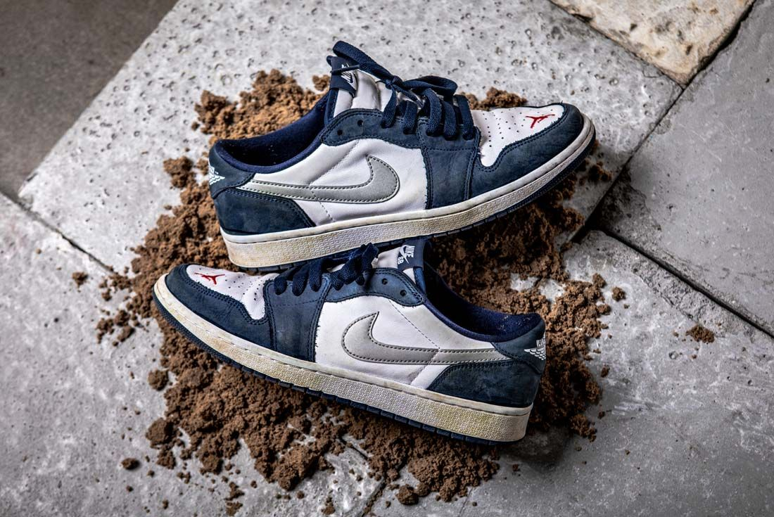 Nike Eric Koston Aj1 Low Top Down Pair