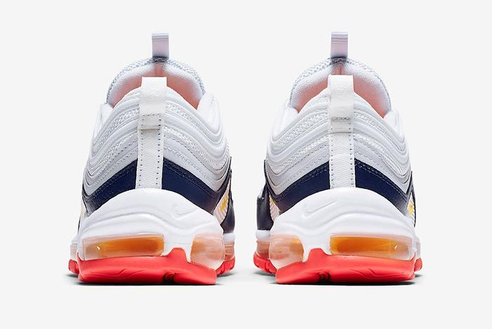 Nike Air Max 97 Laser Orange Heel