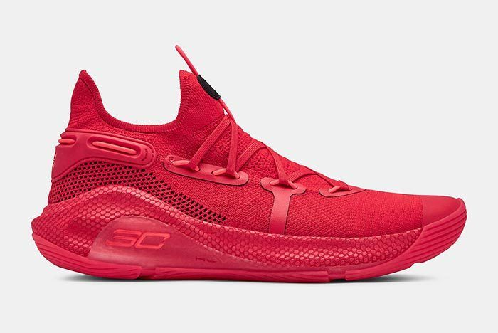 Under Armour Curry 6 Red 1
