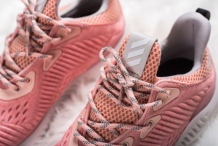 Adidas Alphabounce Pink Womens 5