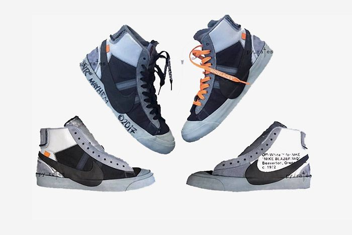 Off White Nike Blazer Studio Mid Aa3832 001 Release Date 1