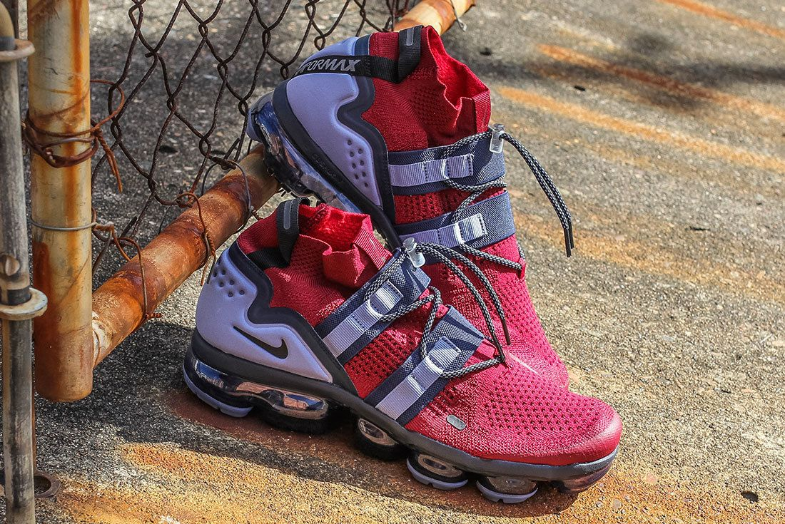 Nike Air Vapormax Utility Red 4