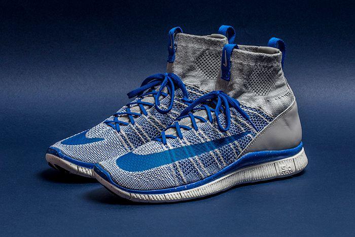 Nike Free Flyknit Mercurial Grey 1