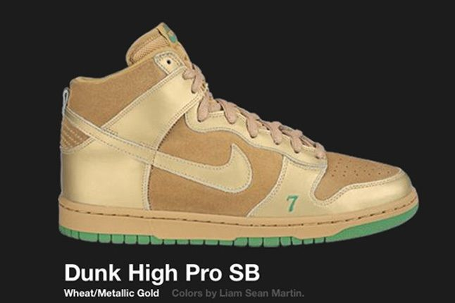 Nike Dunk Hi Sb Lucky 2004 2