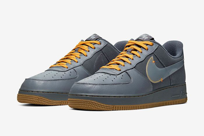 Nike Air Force 1 Low Cool Grey Yellow Cq6367 001 Release Date 4Pair