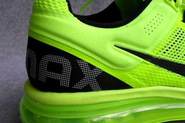 Nike Air Max 2013 Volt Heel 1
