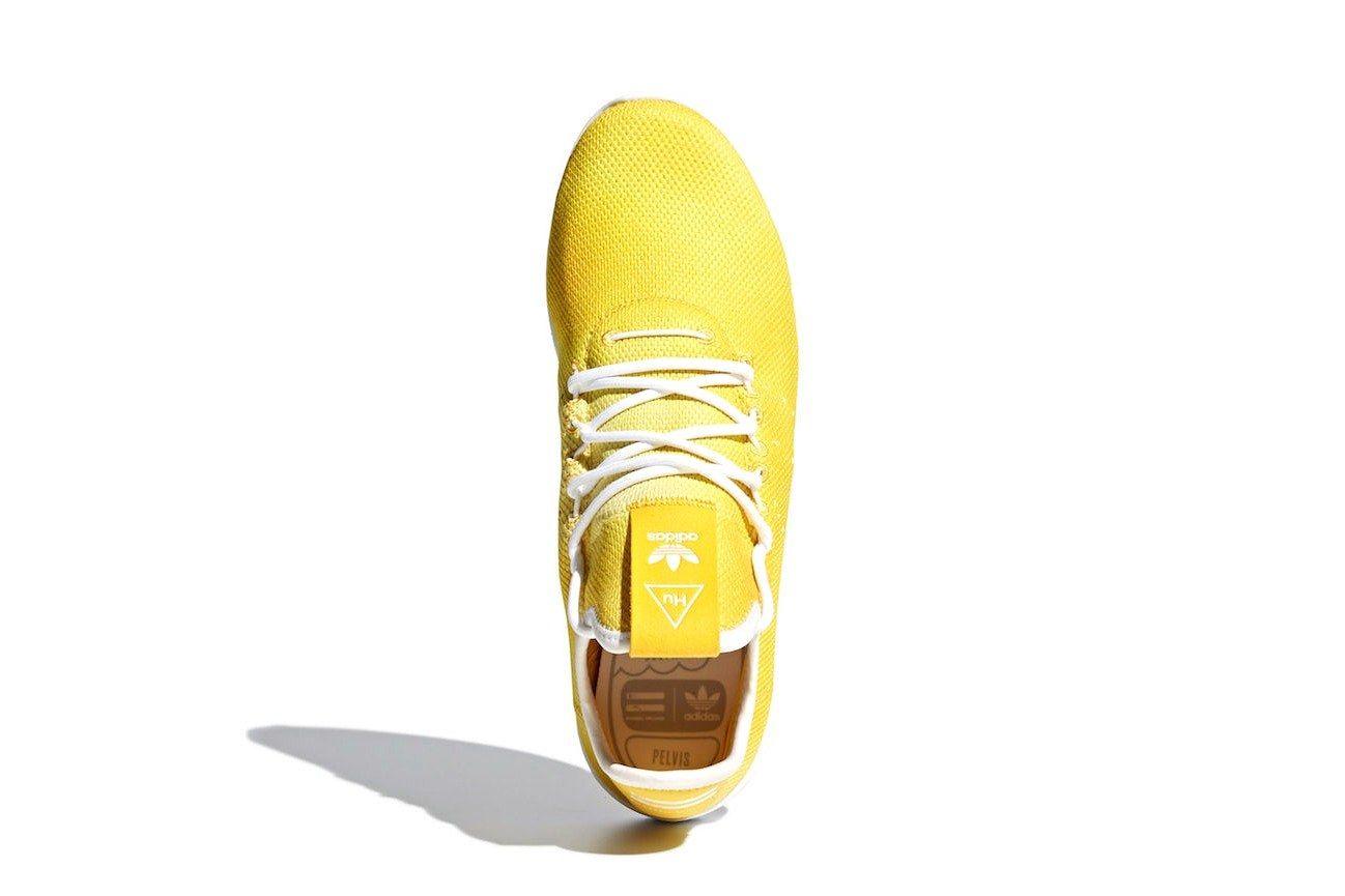 4 Pharrell Adidas Originals Tennis Hu Yellow Release Date
