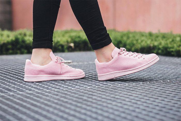 Adidas Stansmith Primeknit Pink 2