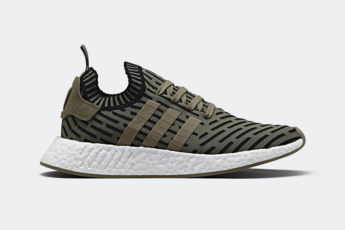 Adidas Nmd R2 Olive Shadow Noise 1