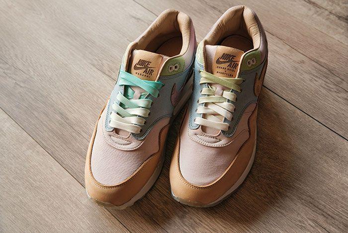 Alcanzar cebolla Fresco  The Chase Shiel x Ryustyler Air Max 1 'Wagashi' is a Sweet Treat! - Sneaker  Freaker