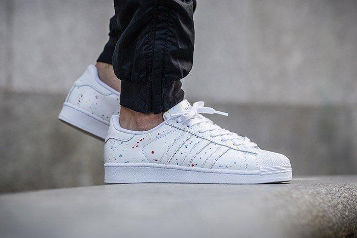 Adidas Superstar Speckled White Multi 3
