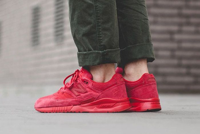 New Balance 530 Red Suede 4
