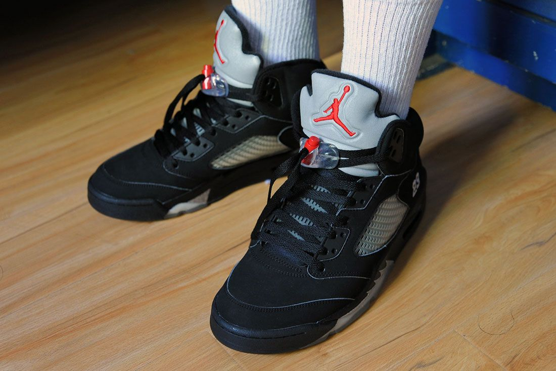 Air Jordan 5 Black Metallic 2006 minhyy