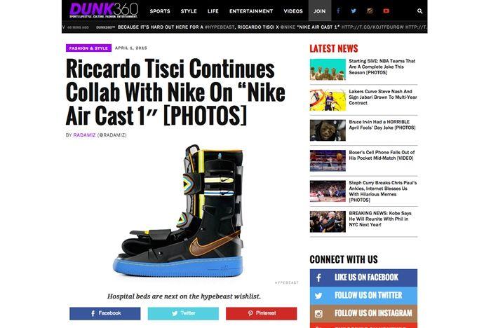 Sneaker Freaker April Fools 2