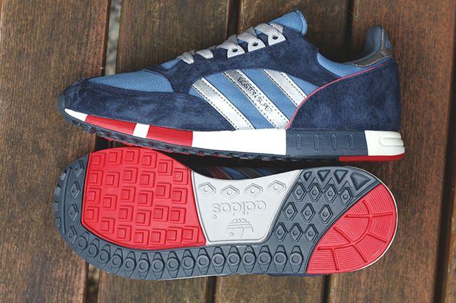 Adidas Originals Boston Super Stonewash Blue 2