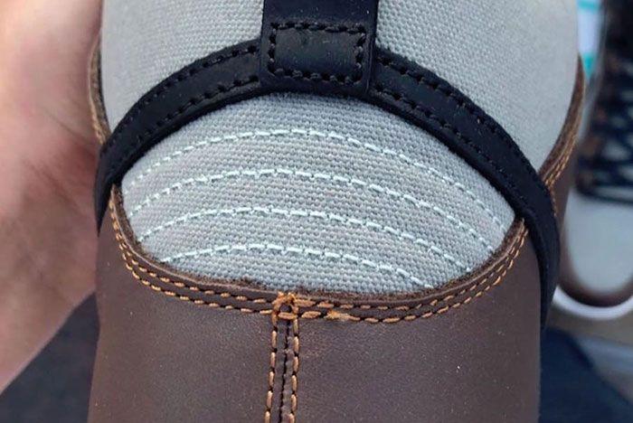 Nike Sb Dunk High Pro Baroque Brown Bq6826 201 Release Date 5 Rear