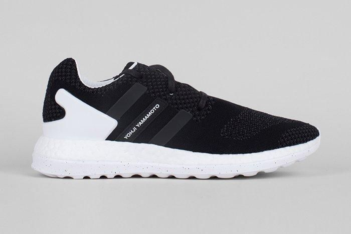 Adidas Y 3 Pure Boost Zg Knit Core Blackwhite2