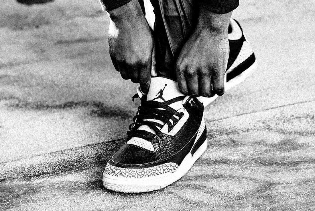 Air Jordan 3 Black Cement Australia 2