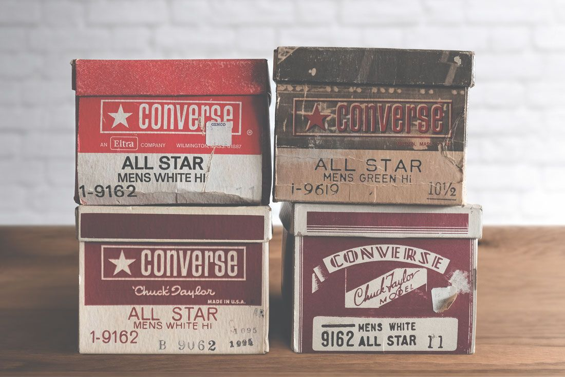 Converse Chuck Taylor All Star Vintage Boxes