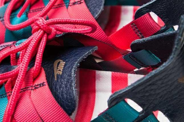 Nike Roshe Run Woven Nagoya Marathon Woven Detail 1