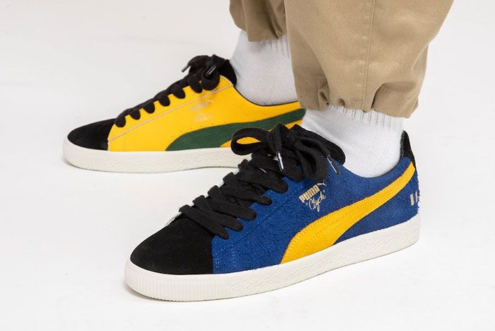 The Hundreds Puma Clyde Decades On Foot Left Lateral