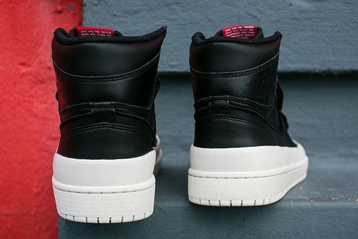 Air Jordan 1 Double Strap Black Sail 2 Sneaker Freaker