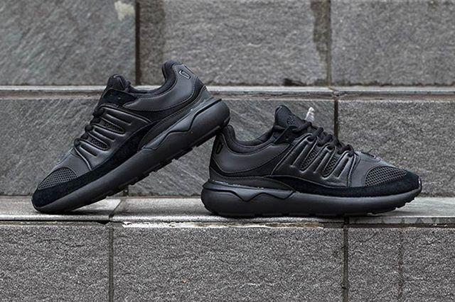 Adidas Tubular 93 Black White4