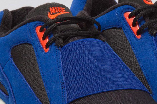 Nike Air Current Blue Orange Elastic 1