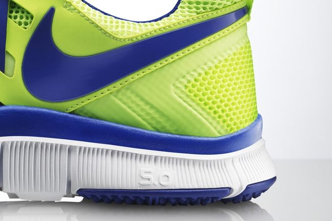 Nike Free Trainer 5 0 Volt Neon Heel Detail 1
