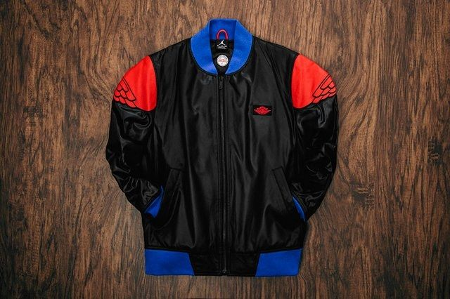 Just Don Air Jordan 2 Pinnacle Bomber Jacket Black 4