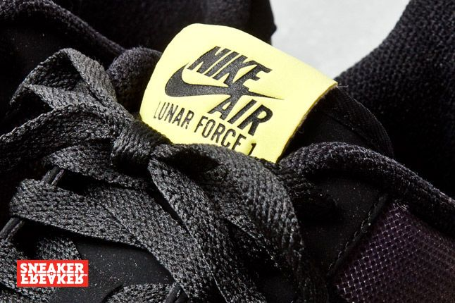 Nike Lunar Force 1 Low Black Yellow 3 1