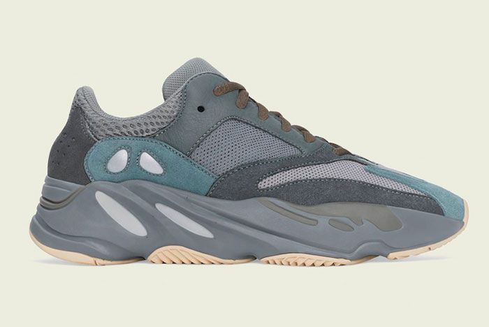 Adidas Yeezy Boost 700 Teal Blue Right