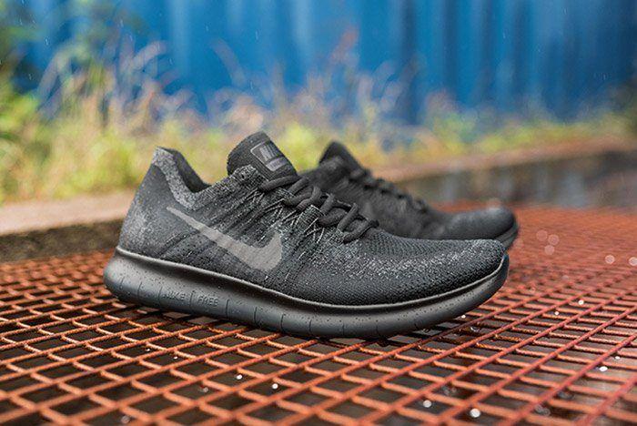 Nike Free Run Flyknit 2017 Triple Black6