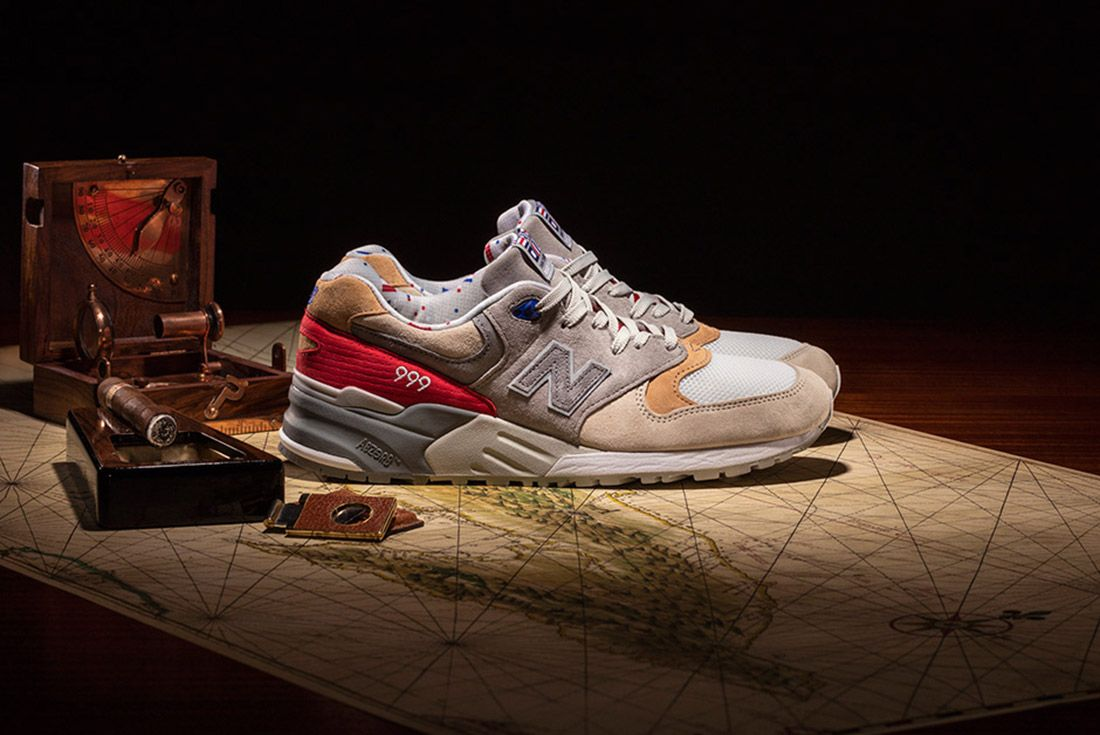 New Balance 999 Hyannis Concepts Red 7