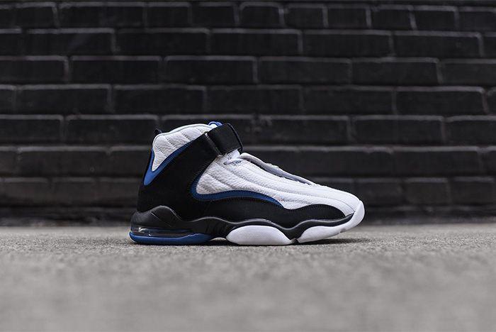 Nike Air Penny Iv White Black Atlantic Blue 3