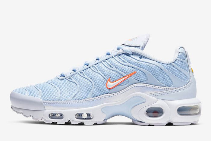 Nike Air Max Plus Blue Orange 1