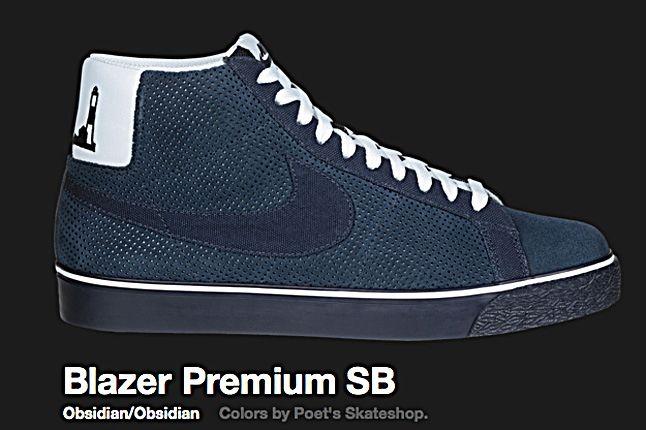 Nike Obsidian Blazer Premium Sb 2010 1