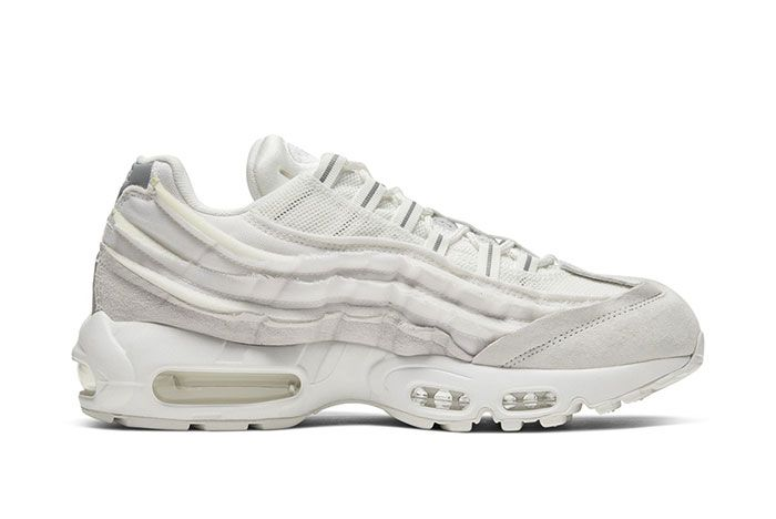 Comme Des Garcon Nike Air Max 95 White Right