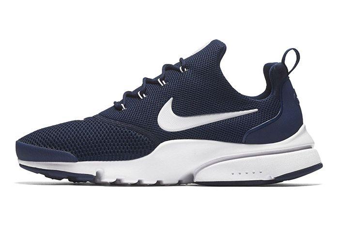 Nike Air Presto Fly Navy Blue White