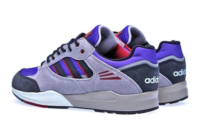 Adidas Tech Super Blast Purple Heel Quarter 1