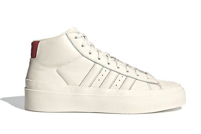 Fourtwofour Adidas White High Right Side