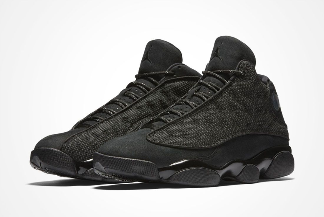 Air Jordan 13 ' Black Cat'  A