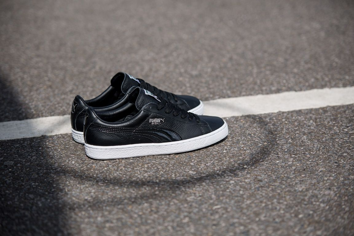 Puma Basket Black And White Pack 4