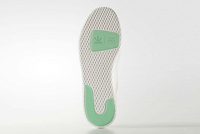 Adidas Pharrell Williams Tennis Hu Pastel Green 2