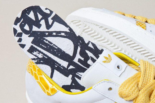 Adidas Consortium Shelltoe Snake Yellow 6 1