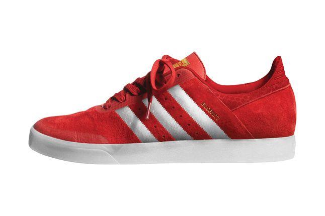 Adidas Busenitz Adv Red Pair Side Profile 1