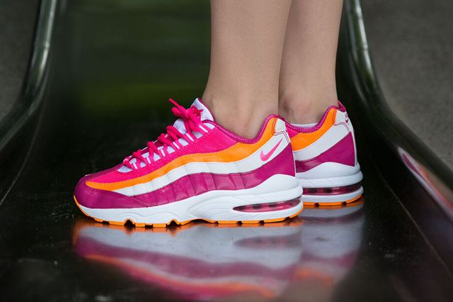 Nike Am95 Vivid Pink Bright Citrus 2
