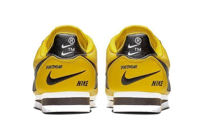 Nike Cortez Premium Bright Citron 3