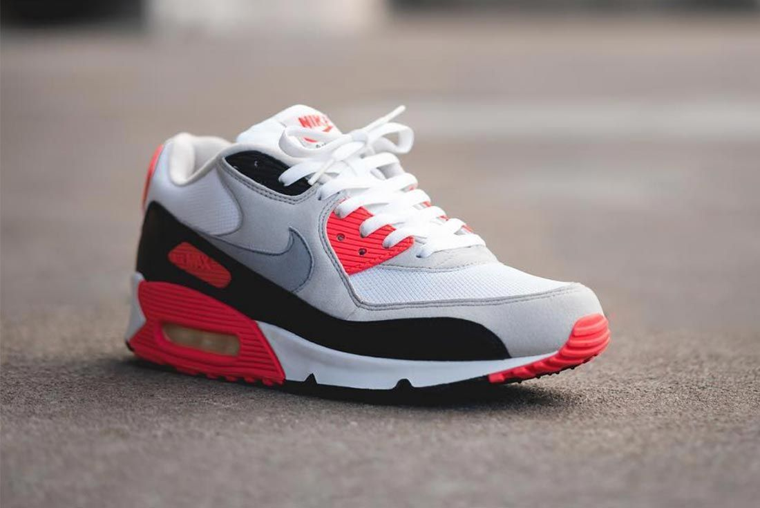 Nike Air Max 90 Infrared Colourway