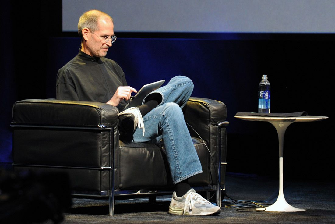 New Balance Grey 574 Steve Jobs 992 1